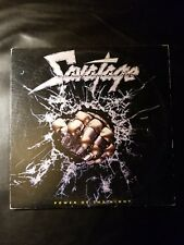 Savatage Power Of The Night LP Never Played  OPEN