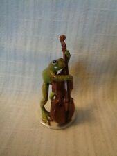 Hagen Renaker Specialty Froggie - Playing Instrument