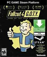 Fallout 4 Game Of The Year Edition (GOTY) PC (NO CD/DVD) Steam Key Fast Sent!