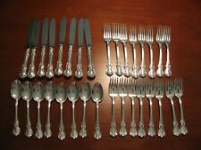 Towle Old Master Sterling Silver Flatware Service 8 Place Settings + 6 Serving