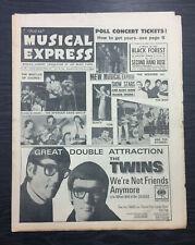 NME: George Harrison, Lulu, Bruce Woodley, Crispin St.Peters, January 28th 1966