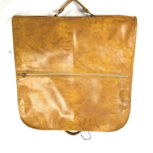 Vintage leather American Tourister garment bag...free shipping !!