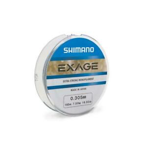 NEW Shimano Exage 0.185mm Monofilament Fishing Line 1000m
