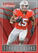 2016 Contenders Draft Football School Colors Complete 24 Card Rookie Insert Set