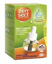 lot 2 Recharges anti-moustiques Zen sect aux 5 huiles essentielles naturelles