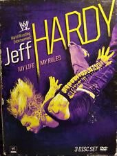WWE JEFF HARDY MY LIFE MY RULES DVD 3 Disc Set