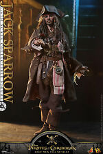Hot Toys Pirates of the Caribbean: Dead Men TNT 1/6th Jack Sparrow Figure DX15