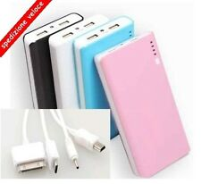 2usb 50000mah Power Bank External Battery Charger Universal Portable Smartphone