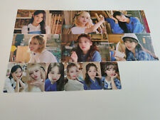 (G)i-dle Seasons Greetings 2021 Official photocard postcard