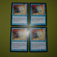 Dispersal Shield x4 Scourge 4x Playset Magic the Gathering MTG