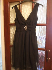 Black Cocktail Dress.  Size 10.  USED.