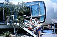 Original Kodak 1957 DISNEYLAND Vintage Photo Slide Monsanto House of the Future