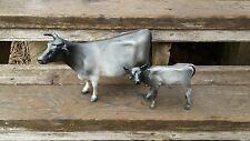 Breyer Horse custom cows cow calf set