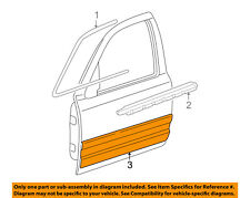 Mercury FORD OEM Grand Marquis FRONT DOOR-Body Side Molding Left 5W3Z5420879CPTM