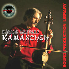 Middle Eastern KAMANCHEH - Original WAVE/NKI Multi-Layer Samples Library on DVD