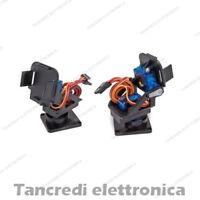 Supporto 2 assi servo SG90 PAN TILT Camera modellismo Drone (Arduino-Compatibile