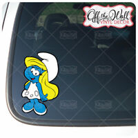 Smurfette Vinyl Decal Sticker
