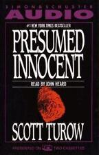 Presumed Innocent by Scott Turow (1988, Cassette, Abridged)