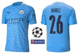 Trikot Puma Manchester City 2020-2021 Home - Mahrez 26 I Heim Champions League
