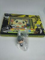 2pc Persona 4 figure keychain strap charm anime game Japan kawaii lot b