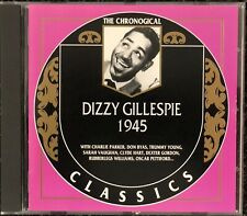 Dizzy Gillespie. 1945. Jazz CD