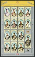 Malaysia 2019 MNH MUH Souvenir Sheet - 2017 Coronation His Majesty Agong