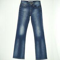 Jeanswest - 'Slim Bootcut' Blue Faded Stretch Denim Jeans Women's Size 8 W28