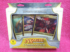 ITALIAN Magic MTG 2011 Commander C11 Sealed Heavenly Inferno Deck the Gathering