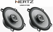 "HERTZ uno X130 5.25"" 13 cm 2-Way Altoparlante Coassiale Audio Per Auto 160 W"