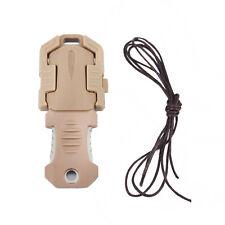 Mini Multifunction Outdoor Survival Emergency Gear Tool Knife Webbing Buckle Kit