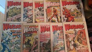 10X 1970s WARLORD COMICS LOT 1