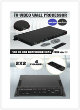 4/9 Channel Hdmi Vga Av Video Processor 3X3/ 2x2 Video Wall Controller