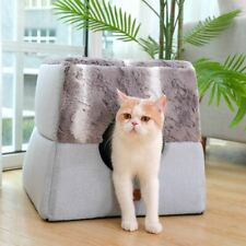 New Pet Dog Cat House Sofa Bed Tent Kennel Cushion Indoor House Mat Removable
