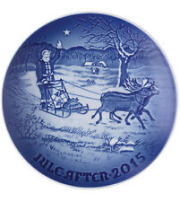 "Bing & Grondahl 2015 Christmas Plate ""Father Christmas""  Mint & NEW IN BOX"