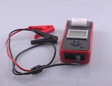 Kfz 6V & 12V Batterietester integrierter DRUCKER Test Anlasser Masse LiMa