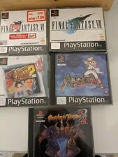 BUNDLE OF EMPTY PLAYSTATION 1/PS1 CASES,  Inlays And Manuals no discs