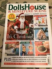 Dolls House And Miniature Scene Magazine Issue 307, December 2019