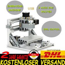 3 Achsen 1610 Mini CNC Router Graviermaschine Fräsmaschine Graveur GRBL Kontrol