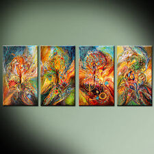 Zodiac Signs highest quality ready to hang four pieces canvas print