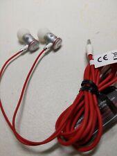 Beats by Dr. Dre urBeats In-Ear earbuds earphones - Red silver 3.5mm