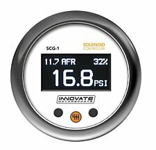 Innovate Motorsports SCG-1 Solenoid Boost Controller & Wideband O2 AFR Gauge Kit