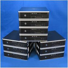 Lot of 10 HP Elite 8300 Ultra-Slim Desktop PC i5-3470s 2.90GHz 8GB RAM 320GB HDD