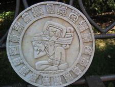 Aztec Maya Pre-Columbian Inca wall art plaque stone sculpture artist Canada