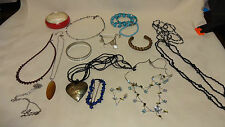Job Lot/Collection Of Costume Jewellery Necklace,Bracelets,Earrings Lot 3