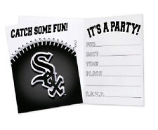 16 White Sox Invitations Chicago Baseball Party Mlb Hallmark Invites Sports New