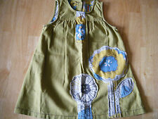 NEXT  - GIRL DRESS - GREEN - AGE 18 MONTHS - 2 YEARS