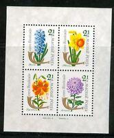 HUNGARY-1963.Souv.Sheet - 36th Stampday - Flowers MNH! Mi: Bl.39.