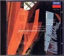 CHAILLY Signiert BERIO Formazioni Folk Songs Sinfonia CD Riccardo Jard van Nes