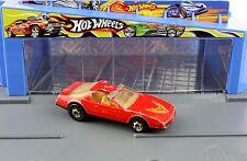 Hot Wheels 80s Firebird Hot Bird Trans Am Pontiac Red 1983 Gold Hot Ones GHO HO