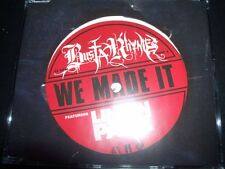 Busta Rhymes Featuring Linkin Park ‎– We Made It Australian CD Single – Like New